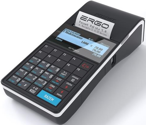 Kasy fiskalne dla warsztatów samochodowych Posnet Ergo
